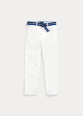 Ralph Lauren Belted Stretch Skinny Chino