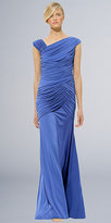 Electric Blue Evening Gowns by Tadashi