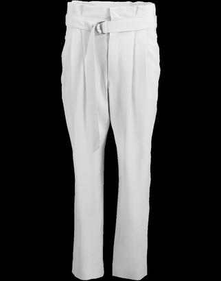 Brunello Cucinelli D-Ring Belt Paperbag Pant