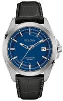 Bulova Blue Dial 'precisionist' Watch 96b257