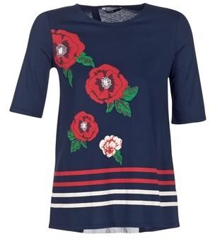 Desigual JOIDEBU women's T shirt in Blue