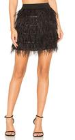Line & Dot Keira Ostrich Skirt