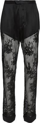 Fleur Du Mal Cillis Silk Lace Pajama Pants