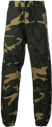 Carhartt Work In Progress Marshall camouflage-print tapered trousers