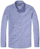 Tommy Hilfiger Micro Print End On End Shirt