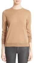 Burberry Women's Check Patch Merino Sweater