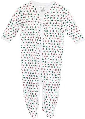 Roller Rabbit Starry Night Footie PJ (Infant) (White) Kid's Jumpsuit & Rompers One Piece
