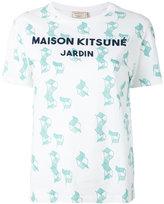 MAISON KITSUNÉ chair print T-shirt - women - Cotton - XS