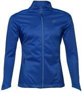 Asics Womens Windblock Running Jacket Blue Purple