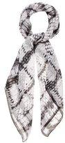 Proenza Schouler Silk Printed Scarf w/ Tags