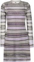M Missoni metallic long sleeve dress