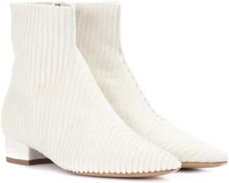 Ellery Chelsea velvet ankle boots