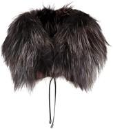 Hockley Matilda Black Fur Collar