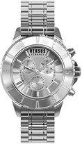 Versus By Versace Men's SGN110015 TOKYO CHRONO Analog Display Quartz Silver Watch