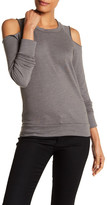 Stateside Cold Shoulder Sweatshirt