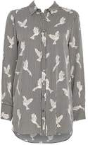 Wallis Black Stripe Bird Shirt