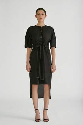 Yigal Azrouel Seersucker Dress