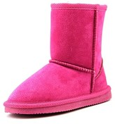 Lamo Kids Classic Boot Toddler Round Toe Suede Pink Winter Boot.