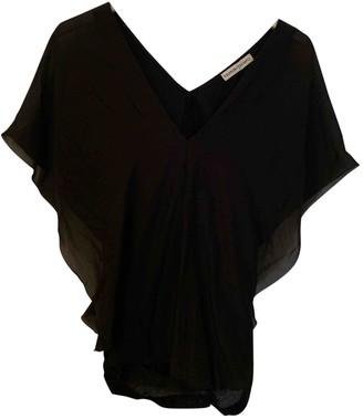 Tsumori Chisato Black Silk Top for Women