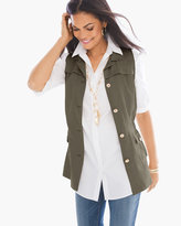 Chico's Feminine Utility Vest