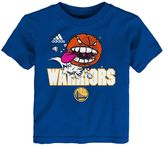 adidas Baby Golden State Warriors Angry Ball Tee