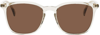Gucci Brown Ultralight Square Sunglasses