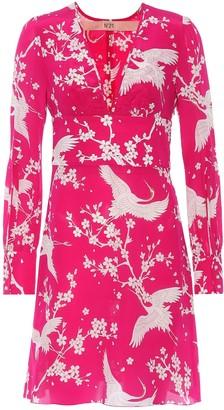 N°21 Donna printed silk dress