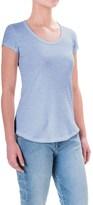 Cynthia Rowley Cotton-Modal T-Shirt - Scoop Neck, Short Sleeve (For Women)
