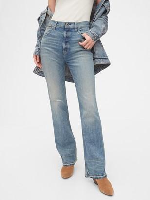 Gap 1969 Premium High Rise Flare Jeans