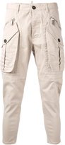DSQUARED2 cropped cargo pants - men - Cotton/Spandex/Elastane - 46
