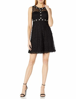 Taylor Dresses Women's Embroidered Daisy Lace Sheath