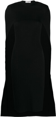 Givenchy Cape-Style Knitted Dress
