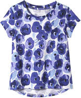 Joe Fresh Toddler Girls' Floral Top, Blue (Size 3)