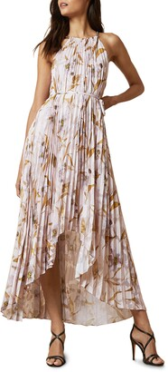 Ted Baker Dixie Cabana Pleated Maxi Dress
