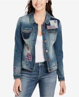 Vintage America Lena Patchwork Denim Jacket
