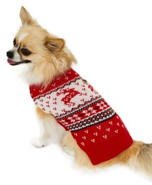 Charter Club Reindeer Pet Sweater, Created for Macy's