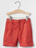 Gap Solid flat front shorts
