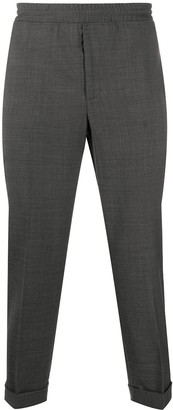 Neil Barrett Elasticated Waist Tailored Trousers