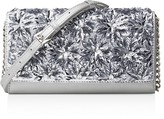 MICHAEL Michael Kors Floral Burst Metallic Wallet On a Chain Crossbody