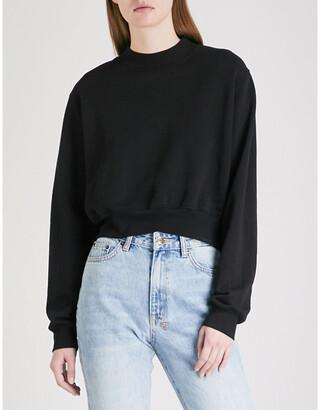 Cotton Citizen Milan cropped cotton-jersey sweatshirt