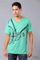 Modern Amusement Fixed Gear V-Neck T-shirt