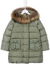 Il Gufo hooded padded coat