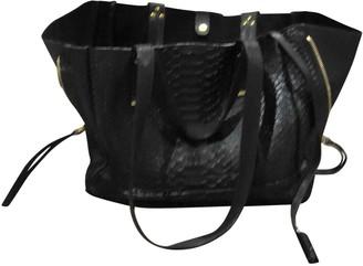 Jerome Dreyfuss Georges Black Leather Handbags
