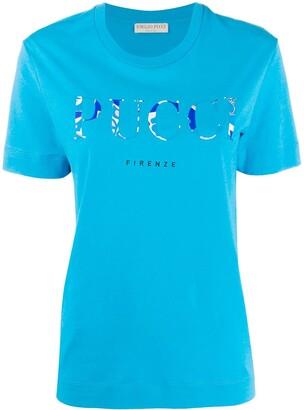 Emilio Pucci logo printed T-shirt