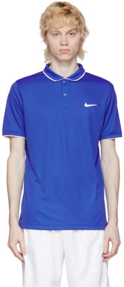 Nike Blue Dri-FIT Polo
