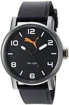 Puma Men's '10414' Quartz Stainless Steel Casual Watch (Model: PU104141001)