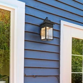 Breakwater Bay Aguayo LED Outdoor Wall Lantern