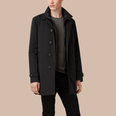 Burberry Lightweight Technical Car Coat With Down-filled Warmer