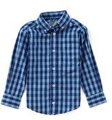 Class Club Little Boys 2T-7 Button-Down Long-Sleeve Checked Shirt