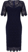 Yumi London Curve Floral Lace Bodycon Dress